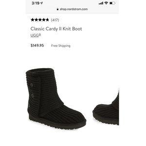 Ugg classic cardi II knit boot